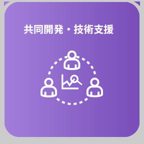 共同開発・技術支援
